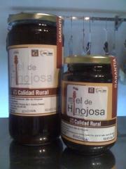 Miel de encina y mil flores, tarros de 500 grs y 1 kg