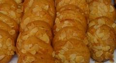 Pastas de almendra, reposteria artesana