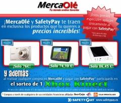 Promoción especial de MercaOlé con SafetyPay