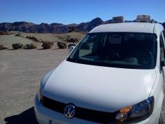 Ruta con radio taxi san marcos por el teide, en las minas de san jose