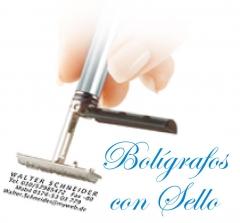 Bolígrafo con sello, un regalo ideal para comuniones.