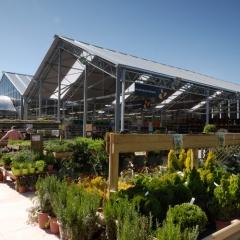 Invernadero ulma tipo dos aguas para garden