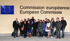 Viaje académico a bruselas