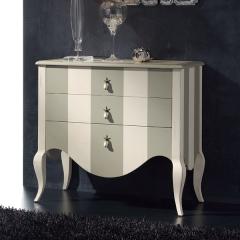 Mueble auxiliar carlotta  acabados lacados, medidas especiales.
