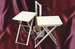 Mesa con soporte