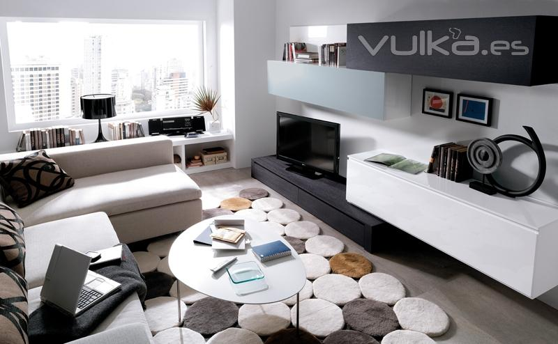 Muebles saga mobiliario y decoracion ejea de los for Mobiliario de salon moderno