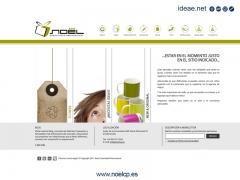 Diseño y desarrollo Sitio Web / www.noelcp.es (Merchandising)