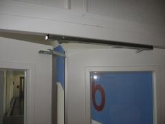 Selector de cierre para puertas cortafuego de doble hoja, según en1158