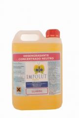 Detergente concentrado neutro