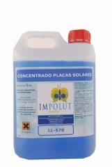 Concentrado placas solares