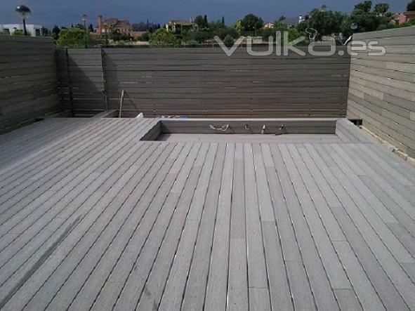 Madera suelo exterior la construccin with madera suelo - Suelos de madera exterior ...