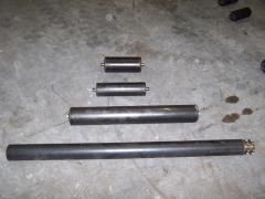 Rodillos pesados, para funcionamientos que requieran robustez. tanto en tipo libre, como con pi�ones