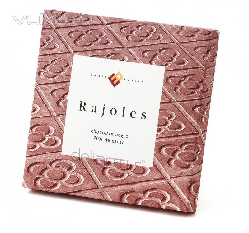 Rajoles de Chocolate Negro ENRIC ROVIRA 100 gr.