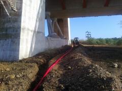 Nueva iluminacion puente real de badajoz