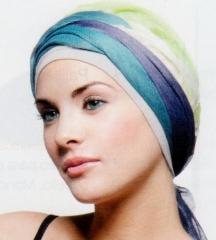 Pa�uelos, gorros, turbantes, exclusivos materiales para el cuidado de la piel.