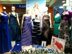 Escaparate vestidos de fiesta 2. primavera-verano 2012