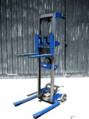 Ref.: 884, apilador manual genie lift, modelo: gl-10, capacidad de carga: 100 kgs., m�stil duplex.