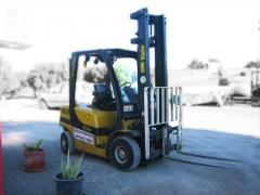 Ref.:1051, carretilla di�sel yale, modelo gdp25vx value, capacidad de carga: 2500 kgs., m�stil duple