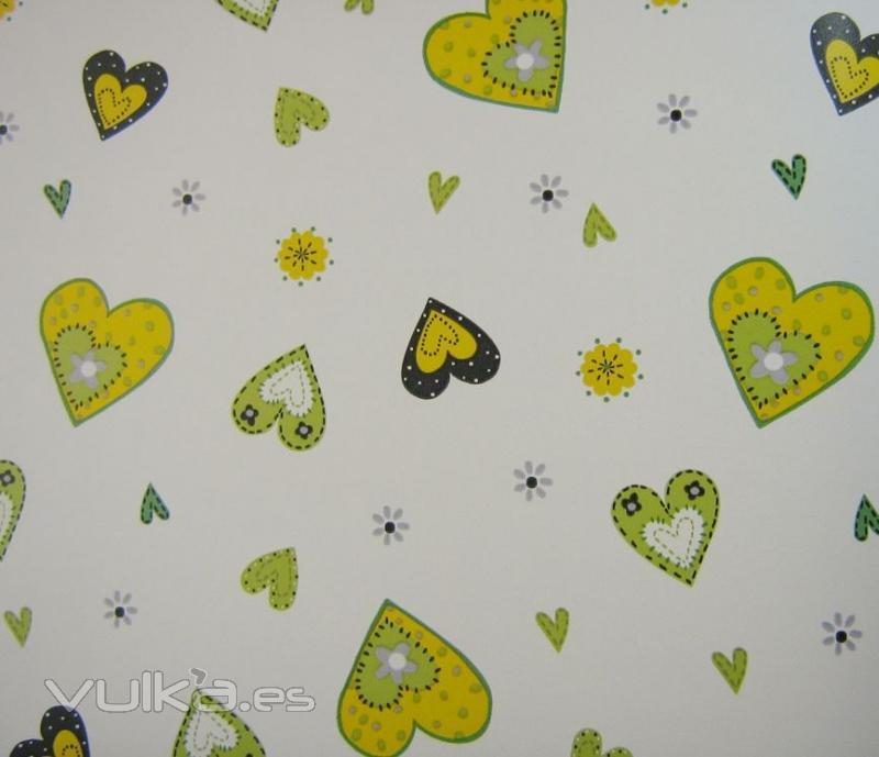 Foto papel pintado infantil coozkids for Papel decomural infantil