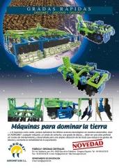 Nuevas gradas r�pidas Agromet con los �ltimos avances tencol�gicos en el desarrollo de la m�quina.