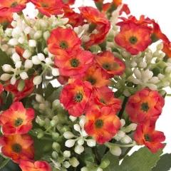 Planta kalanchoe artificial con flores naranjas en lallimona.com (2)