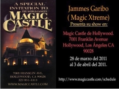 invitacion magic castle