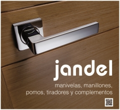 Gran cantidad de acabados en las manivelas que permite combinar con todos los acabados de la puerta.