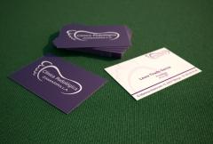 Dise�o de logotipo y tarjeta de visita