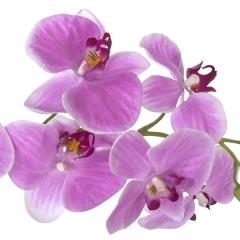 Flores artificiales. rama orquideas artificiales latex lavanda con hojas 85 en lallimona.com (2)