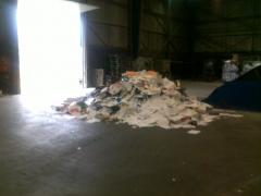 Asi es como actuan las empresas de reciclaje con la documentacion que dicen destruir...