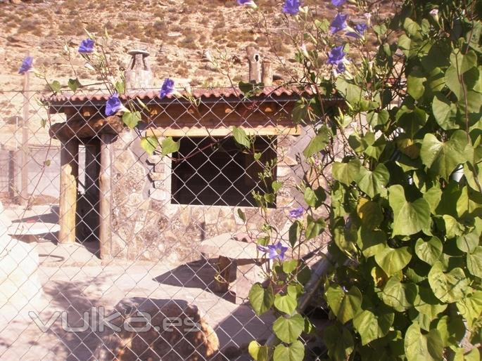 Foto cenador en el jardin entre piedras anda el juego for El jardin gris juego