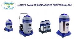 Nueva gama de aspiradores profesionales comercializado por Teclimza
