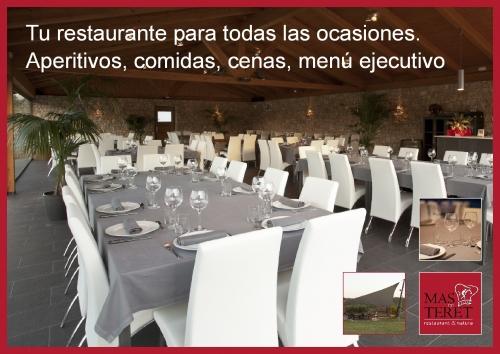 Restaurante en Tarragona Mas de Teret - Para todas las ocasiones