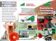 Servicio a domicilio.m�s de 20.000 referencias en stock. www.gomeztrujillo.com