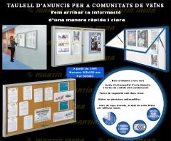 Vitrinas de información para comunidades