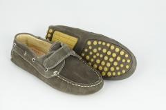 Zapato nautico de thousand, piso de tacos, muy c�modo, www.trescatorcezapatos.com