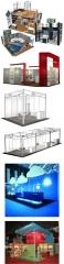 Alquiler de stands modulares para ferias y congresos