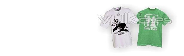 Camisetas, polos, gorras, sudaderas, ropa de deporte, ropa laboral