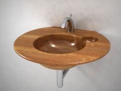 Madera y lavabos artesanales de dise�o elegante by unique wood designs
