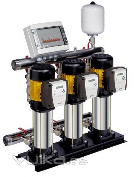 Foto instalaci n y mantenimiento grupos de presi n de agua for Grupo de presion de agua para edificios
