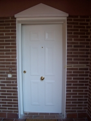 Puerta acorazada panel metalico