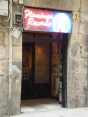 Entrada de Flamingo Records en el Casco Viejo de Bilbao