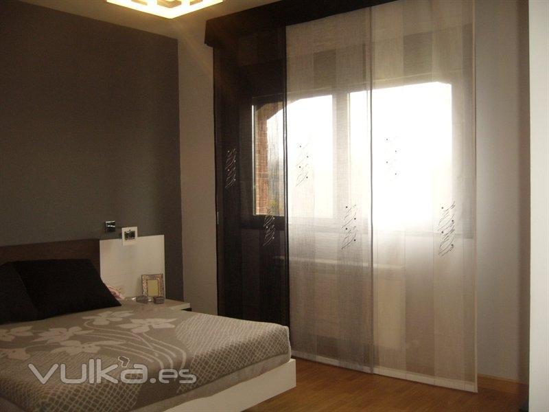 Foto paneles japoneses en dormitorios - Cortinas de paneles japoneses ...