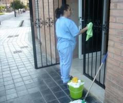 Limpieza de comunidad, limpieza de finca