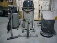 Maquinaria industrial para limpiezas