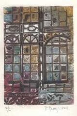 José Manuel Peña Romay - Grabado Nº 2 serie Galerías - Copia única - Med. hoja: 35 x 25 - 100 EUR