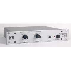 El híbrido-1 es una interfaz entre una línea telefónica estándar y una mesa de mezclas. Su objetivo