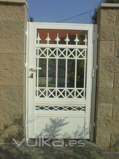 Foto puertas de jardin de aluminio for Puertas jardin aluminio
