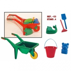Conjunto de juguetes para playa