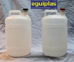 Botella garrafa de pl�stico de 5 litros eguiplas s.l.